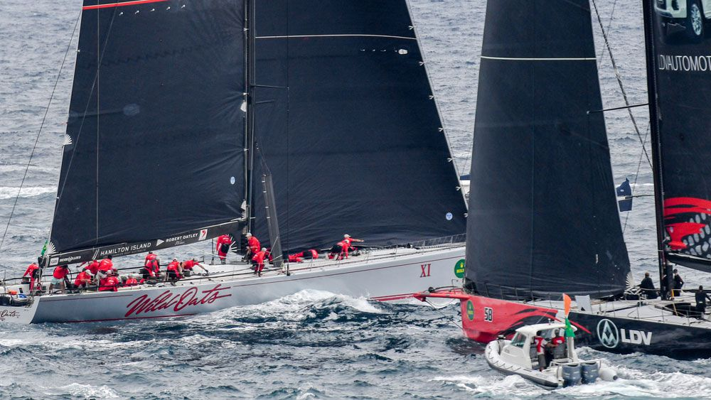 Wild Oats wins Sydney to Hobart yacht race, but protest lodged
