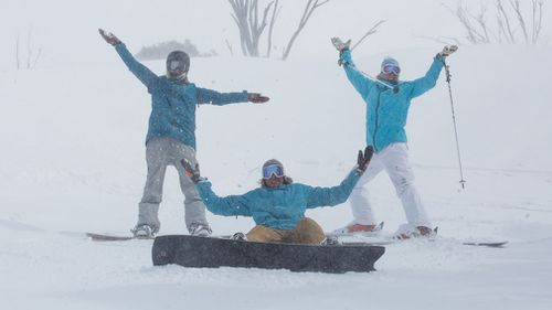 Thredbo had a record-breaking snow season. (Thredbo)