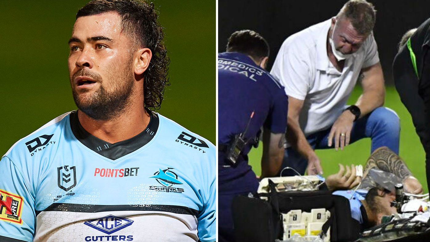Andrew Fifita will undergo surgery for a fractured larynx.