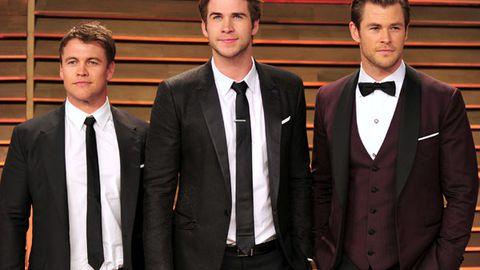 Chris Hemsworth, Liam Hemsworth, Luke Hemsworth