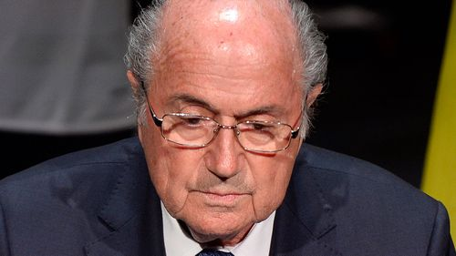 FIFA's Blatter victim of 'conspiracy' says daughter