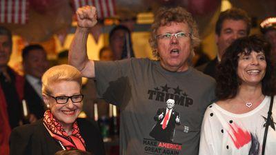 Bronwyn Bishop at a US Presidential Election in Australia. (AFP)