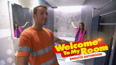 Exclusive: Jesse and Mel reveal the hidden features of their ensuite