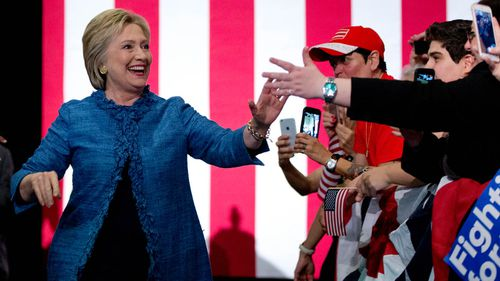 Hillary Clinton now looks certain to win the Democratic nomination. (AFP/Getty)