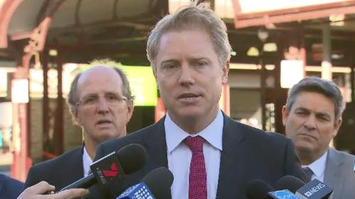 Acting Lord Mayor Arron Wood spoke about the shock decision today. (9NEWS)