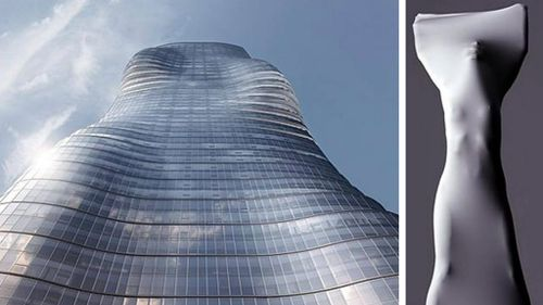 New Melbourne skyscraper inspired by Beyoncé's bootylicious body