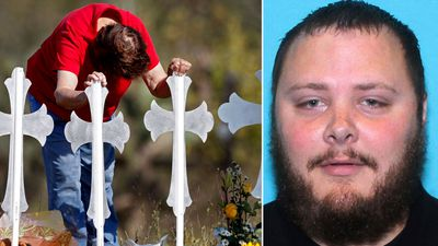 Texas church gunman 'tied wife to bed' before shooting 26