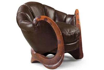 """This """"Dragon"""" chair by Eileen Gray sold for $3 0million. Pic: Christie's"""