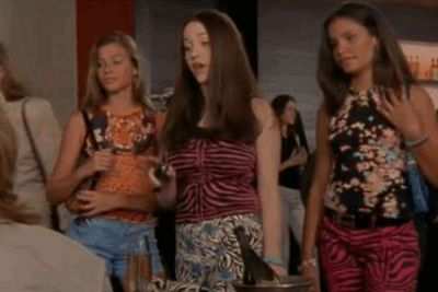 THEN: Who could forget precocious tween Jenny (played by Kat Dennings) who hired Samantha to plan her flashy Bat Mitzvah? <br/><br/>That is, before her <I>Mean Girl</I> trio lectured our <I>SATC</I> faves about sex... at thirteen.