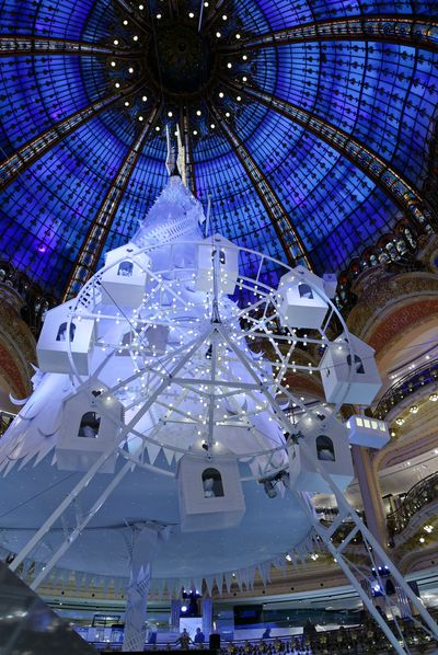 <strong>Paris, France: Galeries Lafayette</strong>
