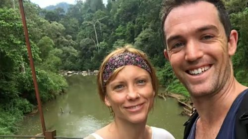 Carlie J. Angel and Brad T. Williams have been banned from performing the bizarre Kambo treatment after a patient died, although they claim it was unrelated.