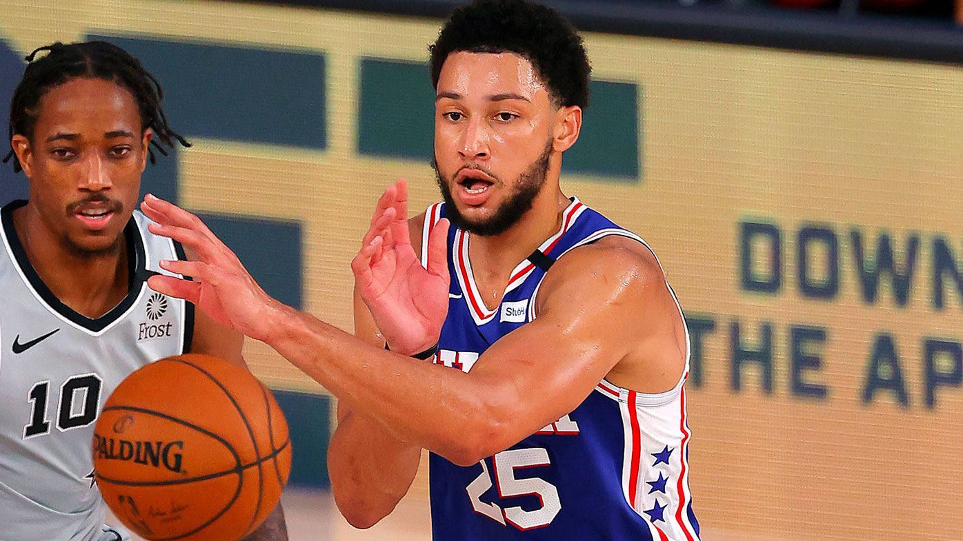 'Ben Simmons has yet to report to Orlando': Aussie 76ers star roasted in NBA's return