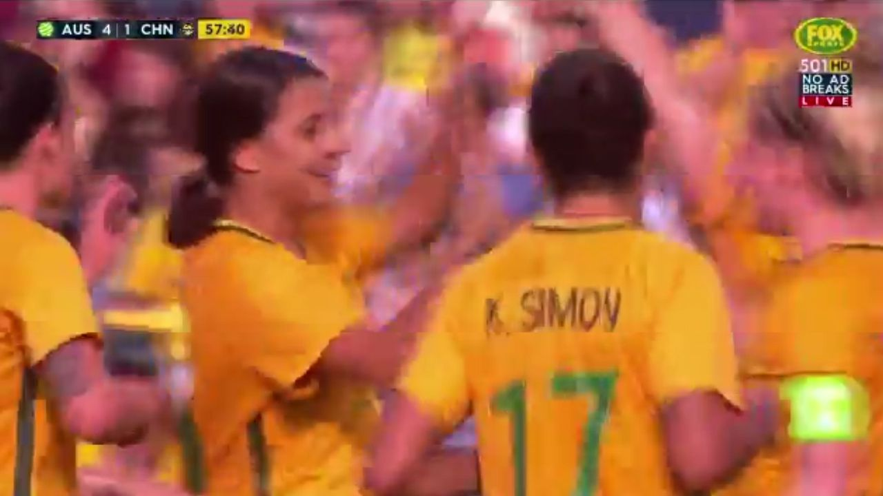 Kerr scores again for Matildas