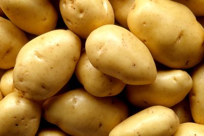 Potatoes: 27mg per 100g