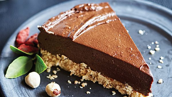 Tess Masters' gluten-free raw chocolate-orange torte