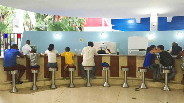 Cuba's ice-cream cathedral. Image: Anne Fullerton