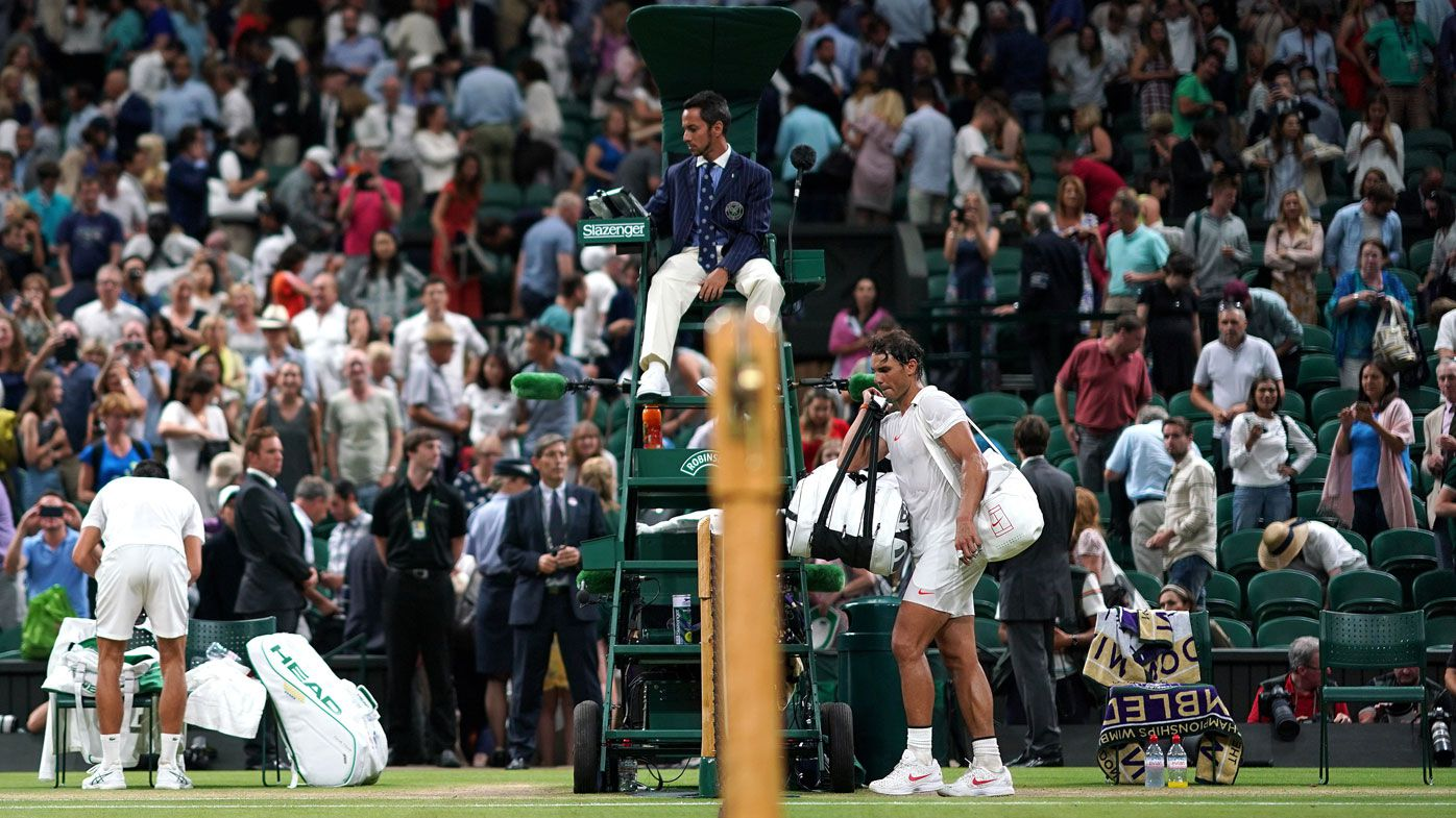 Djokovic, Nadal sleep on it at Wimbledon