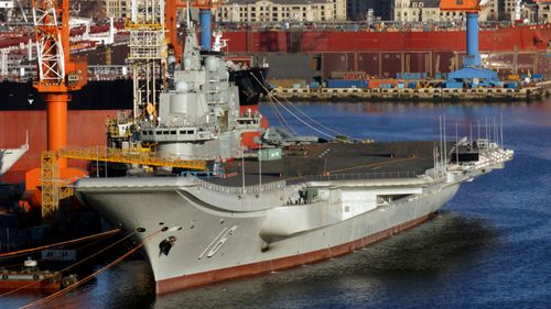 The Soviet built Liaoning is China's only operational aircraft carrier.