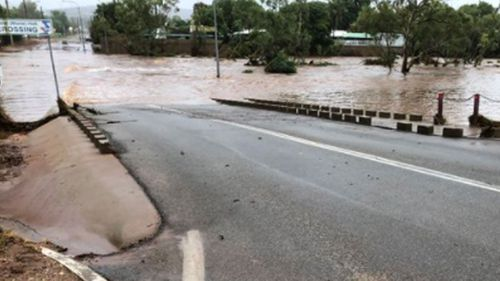 At 5am this morning, Cairns in Far North Queensland had already received 131.8mm of rain overnight (Supplied).