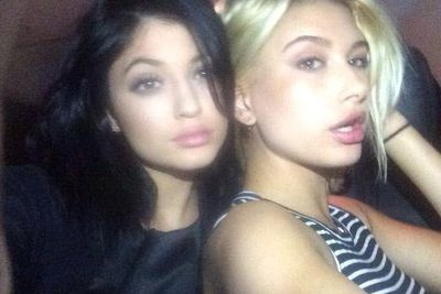Kylie puffed up her lips with pal Hailey Baldwin for her latest pic on photo site Shots, following it up with two new lip-obsessed selfies on Instagram and Twitter.<br/><br/>Check those out on the next slides, followed by Kylie's poutiest pics ever...