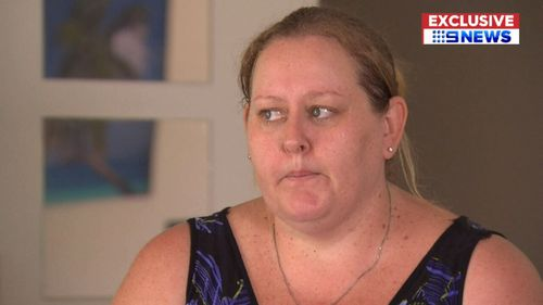 Ms Easton rushed Violet to Gold Coast University Hospital herself. (9NEWS)