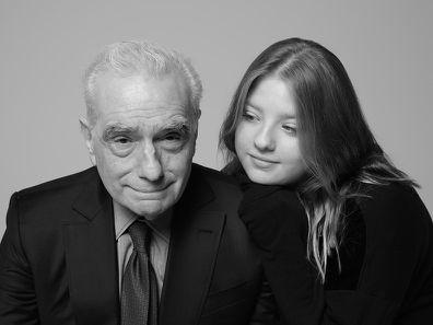 Martin and Francesca Scorsese
