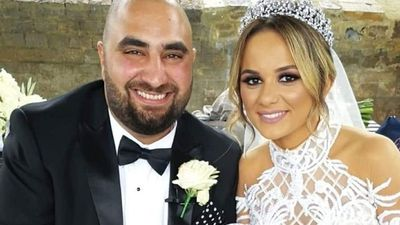 Bride opens eyes for first time after suffering strokes on honeymoon