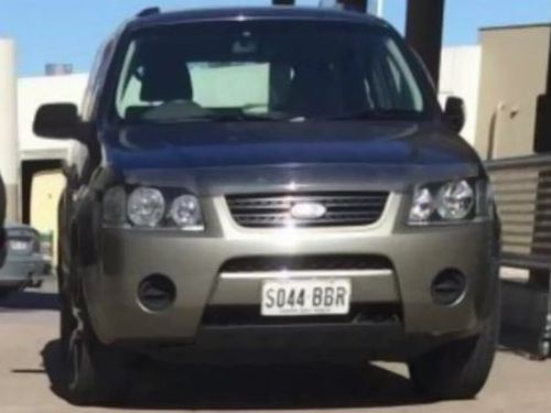 Police believe the culprit fled the scene  in a Ford Territory. (Supplied)