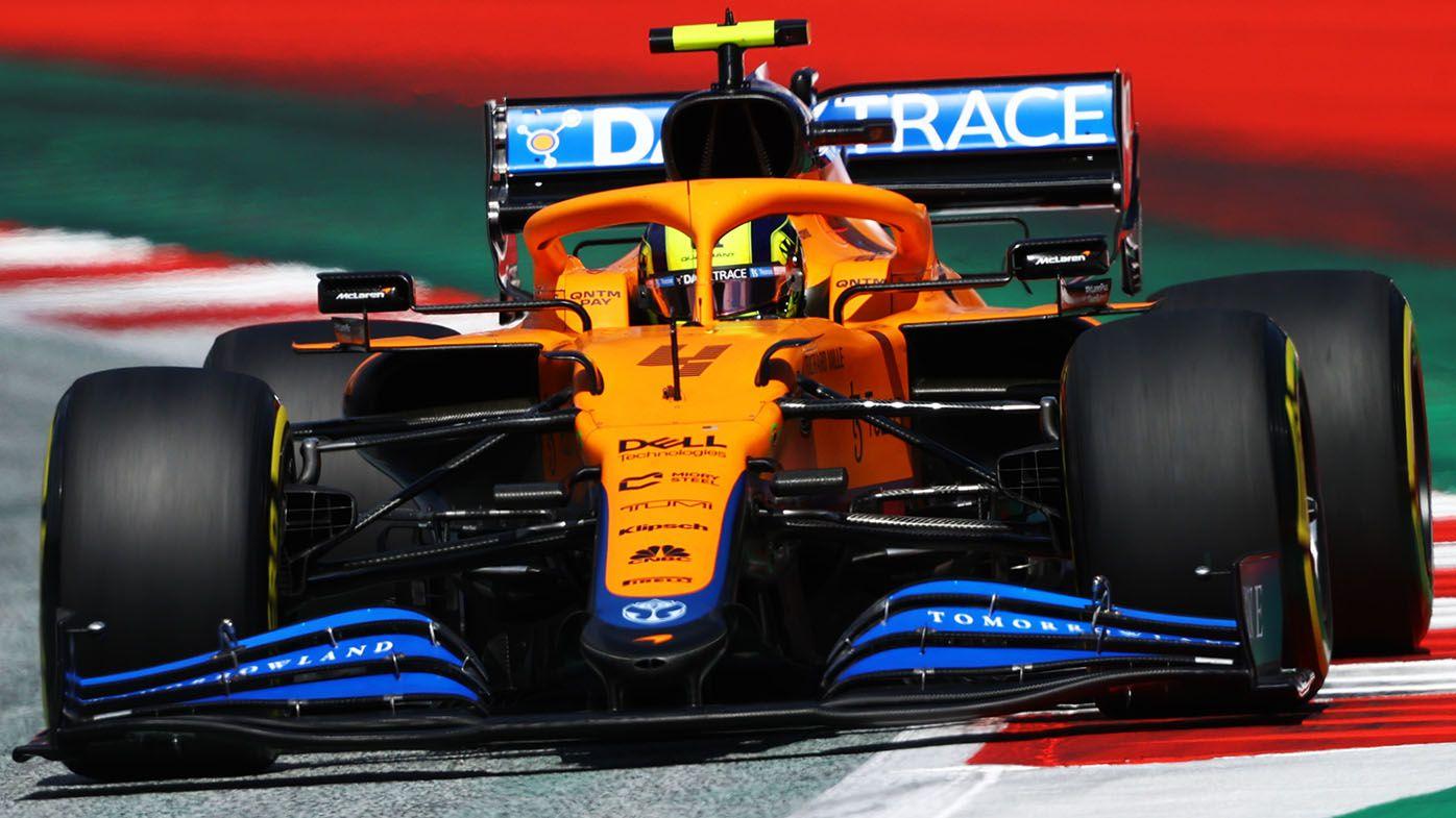 F1 Austrian GP qualifying: Verstappen pole, Norris second, Ricciardo 13th for McLaren