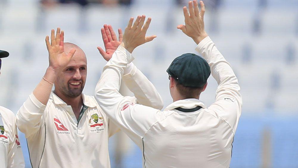 Australia v Bangladesh: Nathan Lyon claims five wickets as tourists made good start