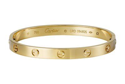 A Cartier Love Bracelet<br>