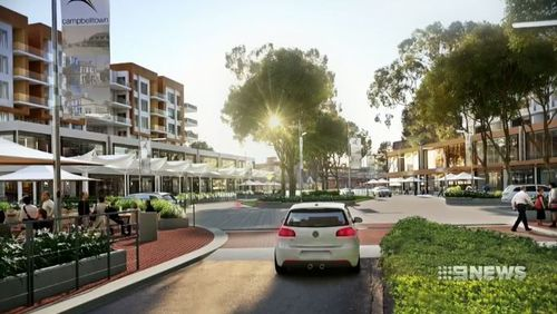 The plan would see a complete revitalisation of Campbelltown's tired rail precincts.