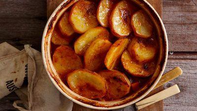 """Recipe:&nbsp;<a href=""""http://kitchen.nine.com.au/2016/05/16/18/19/onepot-perfection-lamb-hot-pot"""" target=""""_top"""">Lamb and potato hot pot</a>"""