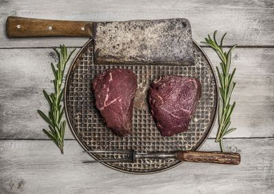 <strong>...venison (or beef).</strong>