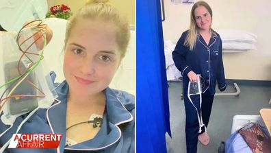 Nurse backs vaccine after suffering from blood clots
