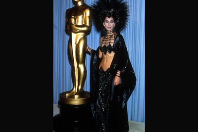 "Unfortunately for Cher, the whole ""dominatrix showgirl"" look never took off."