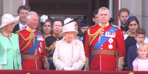 Trooping the Colour: Meghan Markle mistake