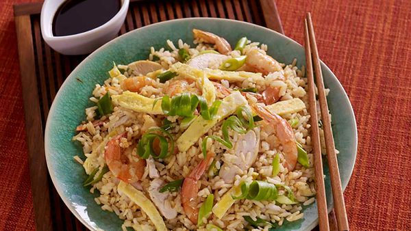 Ayam Chinese fried rice