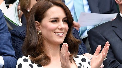 Duchess of Cambridge cheers on fellow Brit Andy Murray at first day of Wimbledon