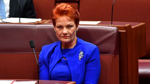 Pauline Hanson is fighting the ban against the wishes of the locals there.