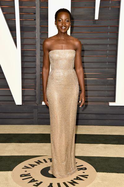 Lupita Nyong'o at the 2014 Vanity Fair Oscars Party