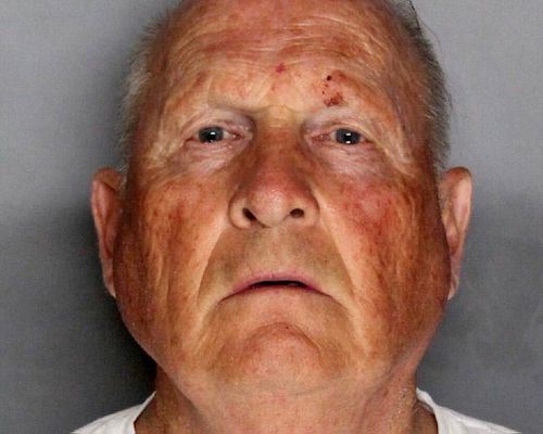 The booking photo of Joseph James DeAngelo, 74, in Sacramento, California.