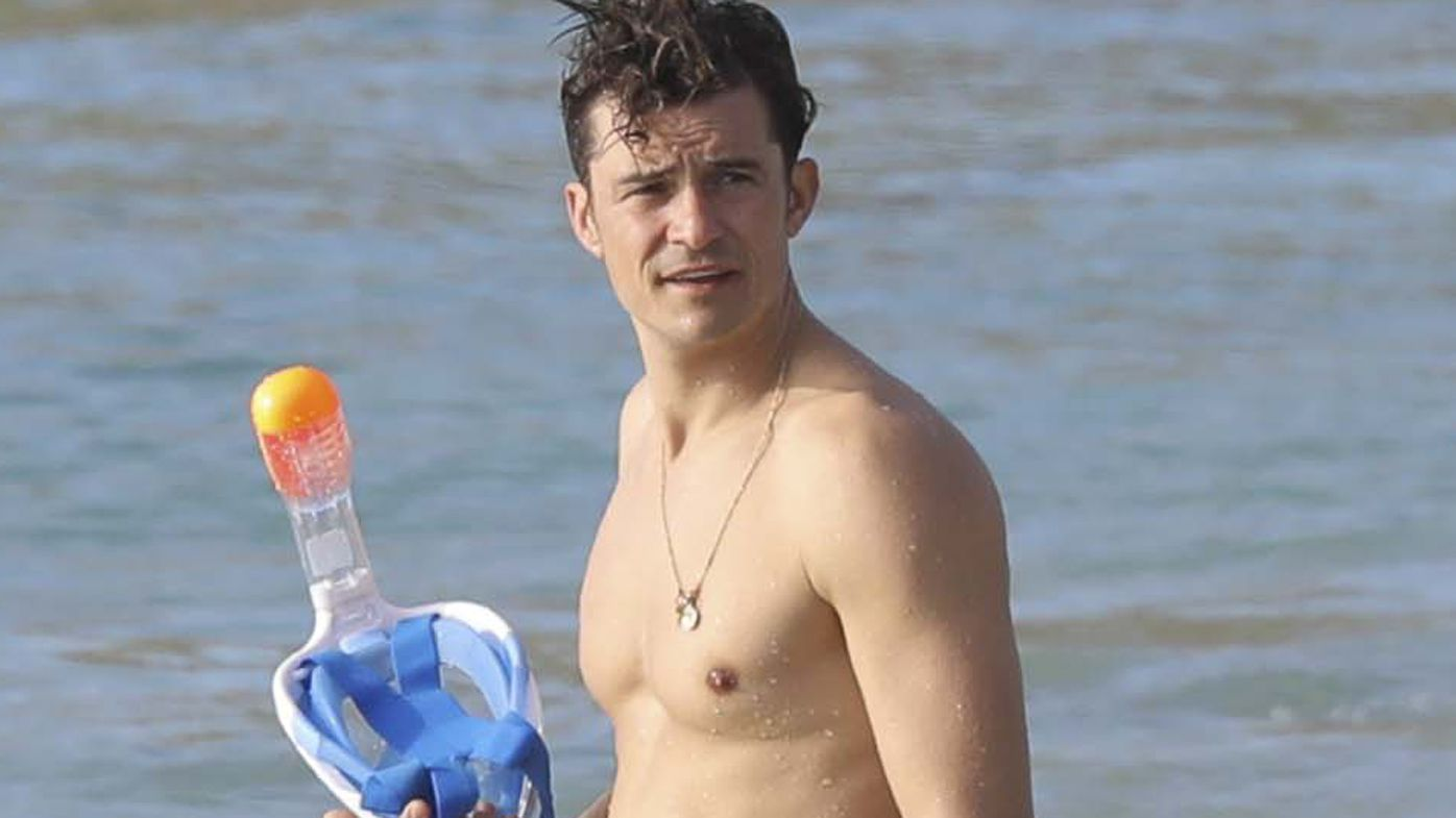 Orlando Bloom Wistfully Reflects On Nude Paddleboarding -4081