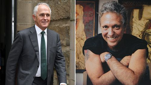 Prime Minister Malcolm Turnbull has farewelled cartoonist Bill Leak at a public memorial in Sydney. (AAP)