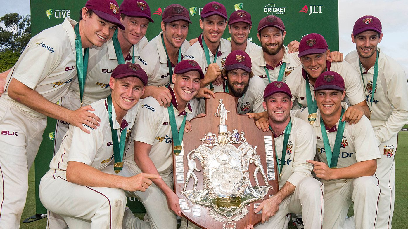 Young Queensland Bulls beat Tasmania in Sheffield Shield final