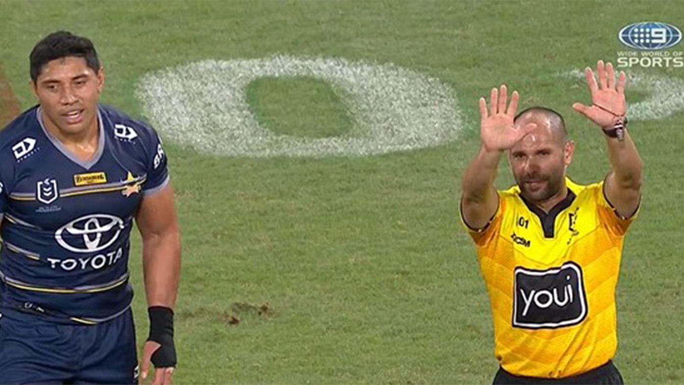 Cowboys pair facing bans as NRL's high tackle crackdown continues