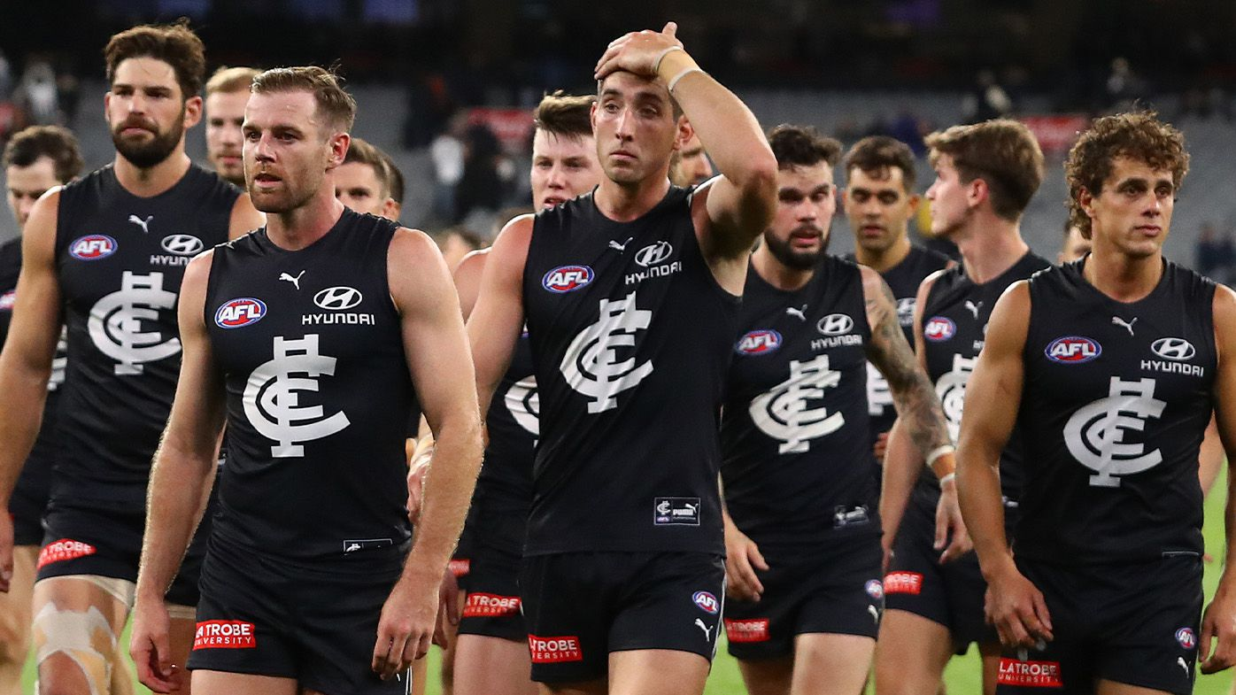 Carlton slapped with unwanted record in MCG defeat to Collingwood
