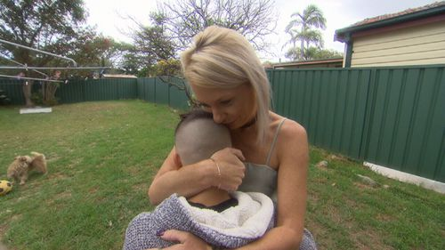 Mum Emma and son Drew have been reunited after he fled to Bali for a four-day holiday - without her knowing.