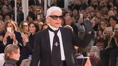 Cara Delevingne defends late designer Karl Lagerfeld after actress Jameela Jamil criticises him on Twitter