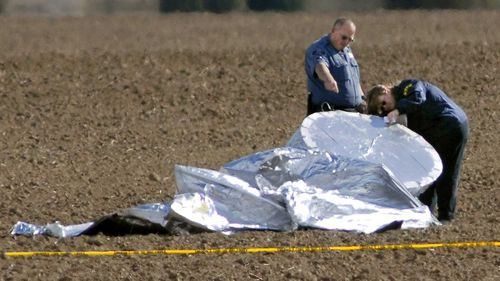 The balloon travelled 80km, with authorities fearing there was a six-year-old child inside.